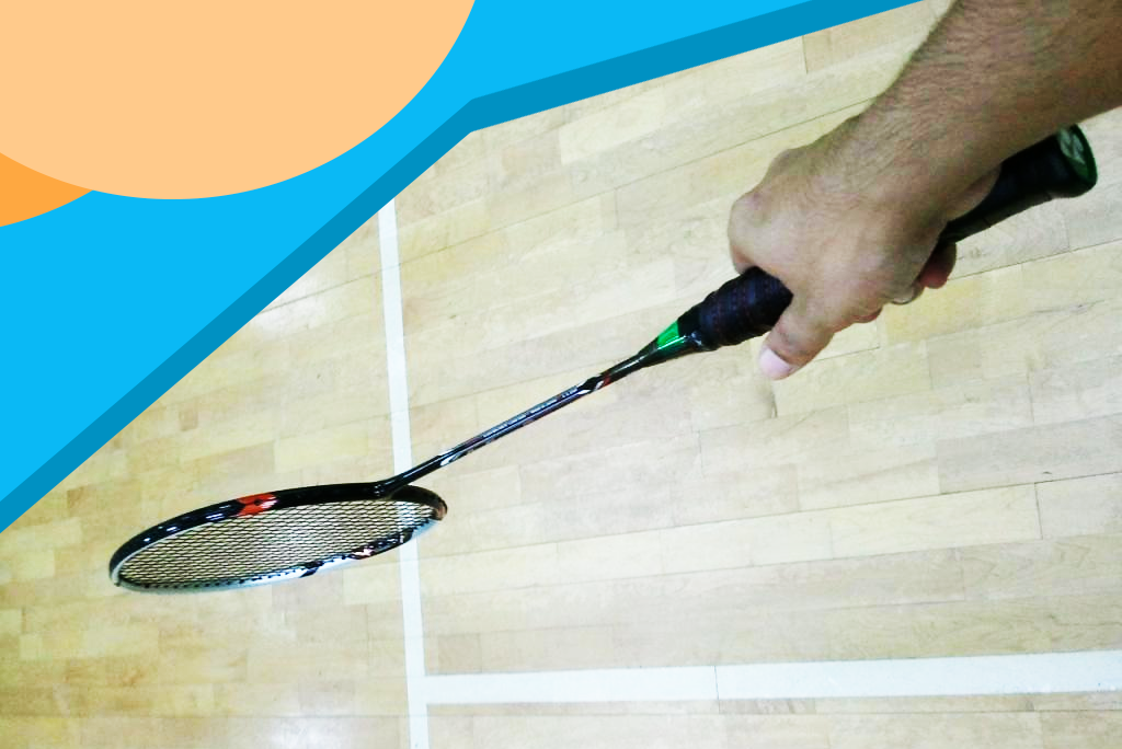 Badminton Gripping Technique | How to Hold a Racket Correctly